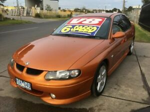 2001 Holden Commodore VX SS 6 Speed Manual Sedan