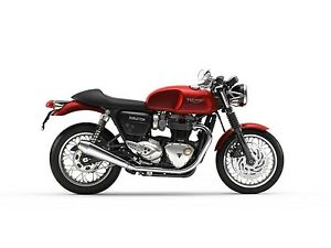 2018 Triumph Thruxton 1200 Korosi Red