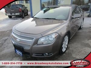 2011 Chevrolet Malibu LOADED LTZ EDITION 5 PASSENGER 2.4L - ECO-