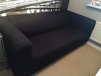 IKEA Klippan Sofa + Extra cover (cream) for sale - Only Available End of AUGUST