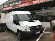 2008 Ford Transit VM Mid Roof MWB White 6 Speed Manual Van Frankston Frankston Area Preview