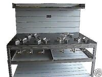 Curry cooker / Cooking Burners / 6 Ring Burner-Commercial Bespoke Range Cookers Restaurant Takeaways