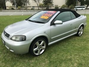 2003 Holden Astra TS MY03 Turbo Silver 5 Speed Manual Convertible