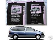 Toyota Sienna Repair Manual