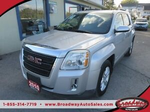 2010 GMC Terrain LOADED SLT EDITION 5 PASSENGER 2.4L - ECO-TEC E