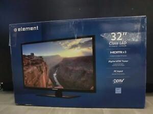 Téléviseur télévision neuve Element 32'' (i013428, i013430, i013431. i013433)