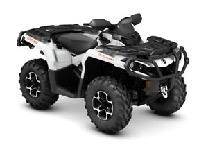 2016 Can-Am Outlander XT 1000R Pearl White