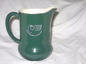 Bonnie Charlie whisky pub water jug.made in England-Wade