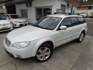 2007 Subaru Outback MY07 2.5I Pearl White 4 Speed Auto Elec Sportshift Wagon Sylvania Sutherland Area Preview