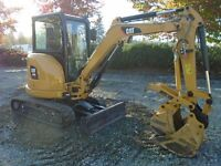 2015 CATERPILLAR Excavator - Mini 303E