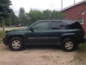 Trading my 2003 trailblazer 4x4 for a Chevy pickup 1985 or older