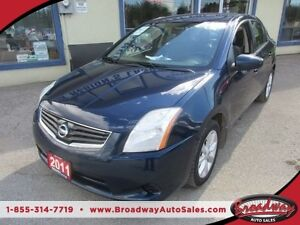 2011 Nissan Sentra 'GREAT VALUE' FUEL EFFICIENT SR MODEL 5 PASSE