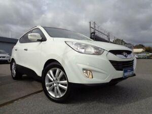 2012 Hyundai ix35 LM MY11 Highlander (AWD) White 6 Speed Automatic Wagon Pooraka Salisbury Area Preview