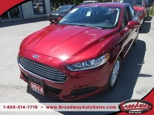 2014 Ford Fusion FUEL EFFICIENT SE MODEL 5 PASSENGER SYNC TECHNO