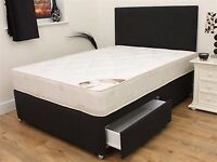 2 drawer double bed