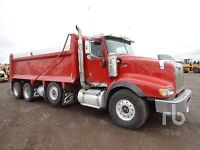 Experienced Dump Truck Driver Wanted
