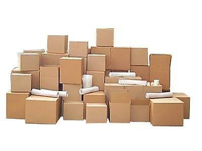 CHEAPEST NEW MOVING BOXES PACKING BOXES TAPE $2 REMOVALIST SUPPLY