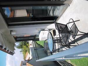 3 Piece Steel Sling Bar Setting Outdoor table & chairs X 2 sets Sorrento Joondalup Area Preview