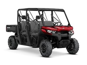 2018 Can-Am Defender MAX DPS HD8 Intense Red
