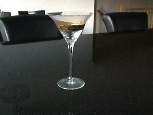 4 New Martini Glasses St. John's Newfoundland image 1