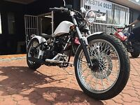 2013 Rare Cleveland Cycle Werks Hardtail Bobber 250cc