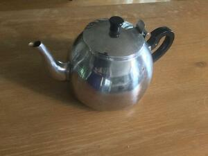 Stainless steel Revere type teapot Kingston Kingston Area image 1