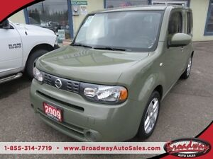 2009 Nissan Cube FUEL EFFICIENT 4-DOOR 5 PASSENGER 1.8L - 4 CYL.