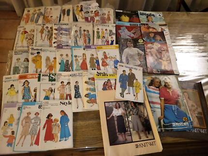 Sewing patterns - Vintage