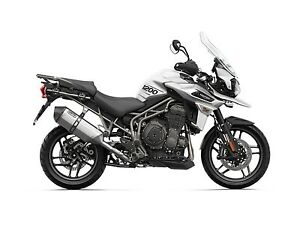 2018 Triumph Tiger 1200 XRT Crystal White