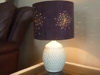 Belleek lamp