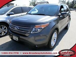 2015 Ford Explorer LOADED LIMITED EDITION 7 PASSENGER 3.5L - V6.