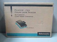 Tektronix Phaser 750 Color Laser Printer Cyan Toner Cartridge
