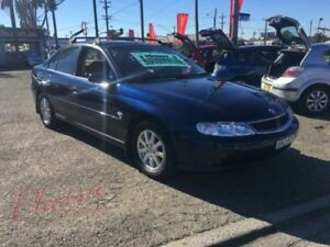 2002 Holden Berlina VX II Blue 4 Speed Automatic Sedan Lansvale Liverpool Area Preview