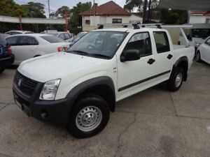 2007 Holden Rodeo RA MY08 LX White 4 Speed Automatic Crew Cab P/Up Sylvania Sutherland Area Preview