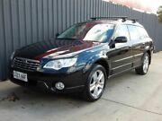 2008 Subaru Outback B4A MY08 Luxury D/Range AWD Black 5 Speed Manual Wagon Blair Athol Port Adelaide Area Preview