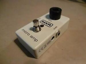 Pédale Micro Amp MXR M133 (i014137)