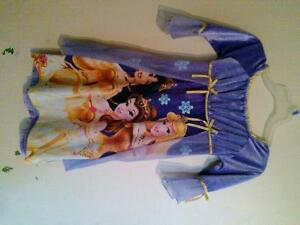 Disney princess nightgown/costume. Size 5.