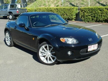 2007 Mazda MX-5 NC MY06 Upgrade Coupe Black 6 Speed Manual Roadster