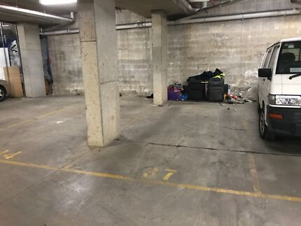 BASEMENT CARSPACE AT THE ENRTY TO M4 WALK TRAIN STATION