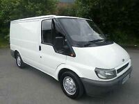 05 transit swb full psv clean and tidy van