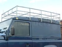 Wanted Land Rover defender 90 full length galvanized roof rack