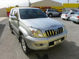 2003 Toyota Landcruiser Prado GXL Silver 4 Speed Automatic Wagon