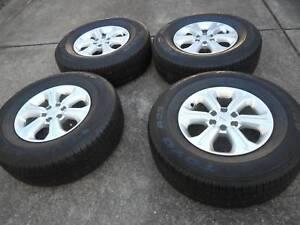 NISSAN NAVARA ST NP300 WHEELS 16X7  TYRES SUIT D40 THAI AS WELL Wallsend Newcastle Area Preview