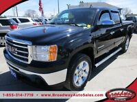 2012 GMC Sierra LOADED SLT EDITION 5 PASSENGER 4X4.. CREW.. SHOR
