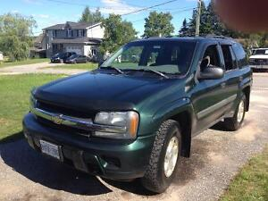 Reduced trade my 2003 trailblazer for 85 or older Chevy pickup