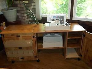 EUC Sewing Cabinet