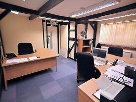 3-desk office - The Post House, Kitsmead Lane, Chertsey, Surrey