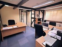 3-desk office - The Post House, Kitsmead Lane, Chertsey, Surrey