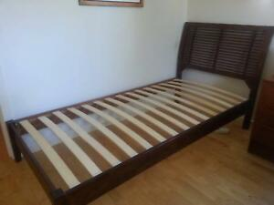 Timber single bed Sandy Beach Coffs Harbour Area Preview