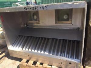 Used Ventmaster  GLD-B  Commercial Kitchen Exhaust Hoods.